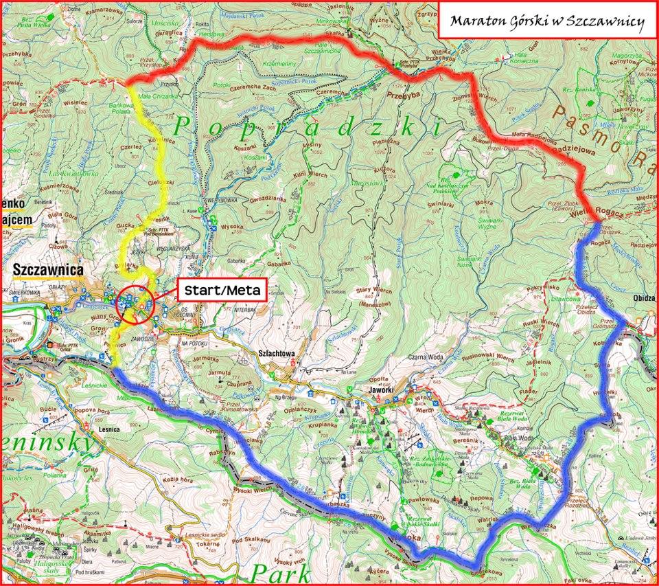 Maraton Gorski W Szczawnicy Biegigorskie Pl