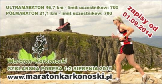 Maraton Karkonoski plakat