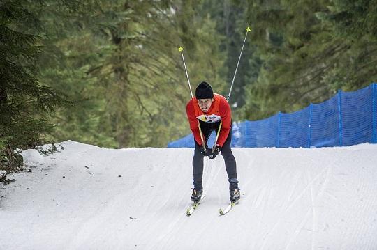 zawody SALOMON NORDIC SUNDAY, biegi narciarskie, trasa biegowa, fot adam brzoza