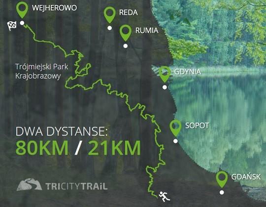 TriCity Trail 2017 - 80km+, Gdańsk - Wejherowo