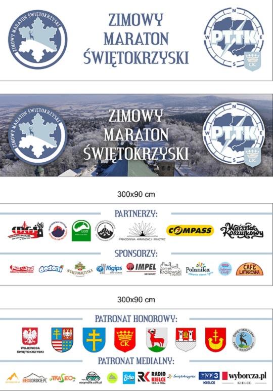 Zimowy Maraton +Üwi¦Ötokrzyski baner